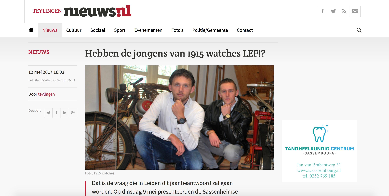 1915 watches - teylingen.nieuws.nl