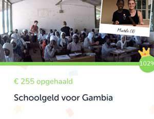 1915 watches - School geld voor Gambia