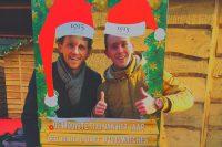 1915 watches - Johnny en Robert Spies op de kerstmarkt bij het fotoframe