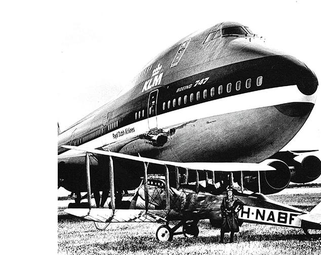 1915 watches - KLM 100 jaar