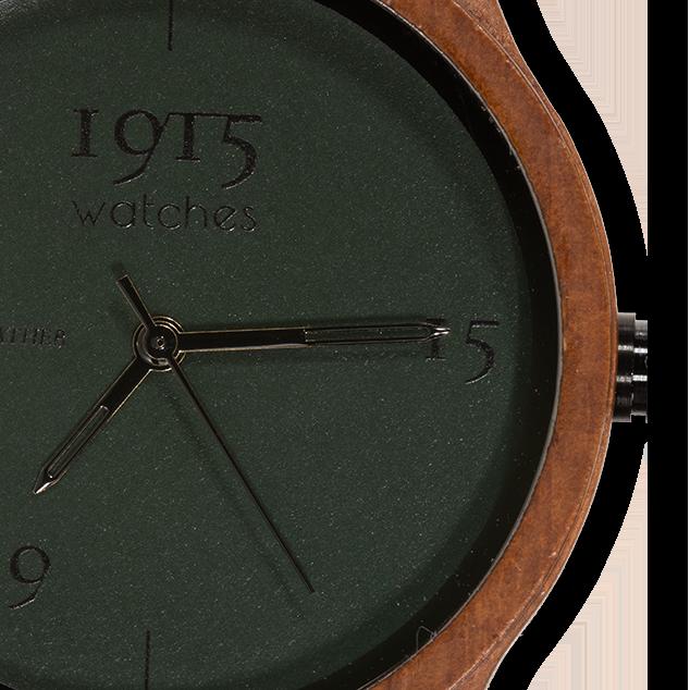 1915 watches - 1915 watches Fine Cotton Groot horloge glas